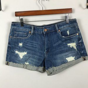 BLANK NYC Denim Cuffed shorts Sz 30